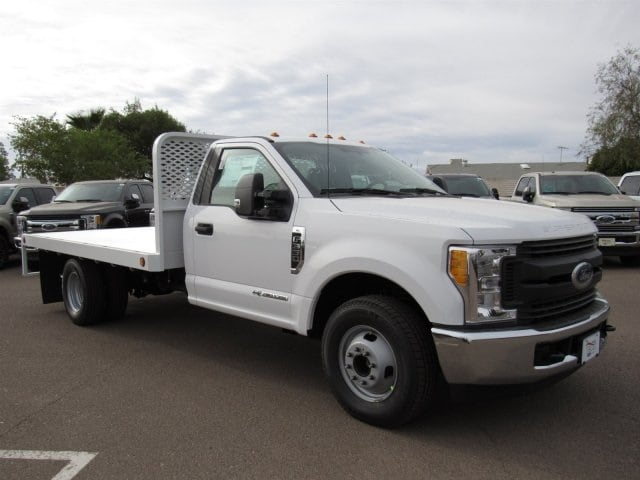 2017 F-350 Regular Cab DRW 4x2,  Scelzi Western Flatbed Platform Body #HEF40815 - photo 1