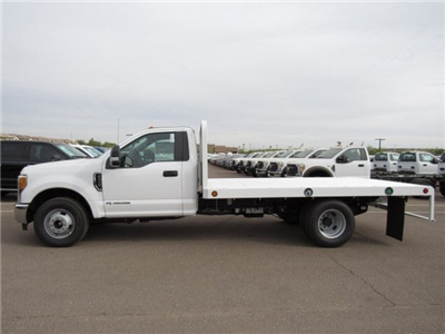 2017 F-350 Regular Cab DRW 4x2,  Scelzi Western Flatbed Platform Body #HEF40815 - photo 3
