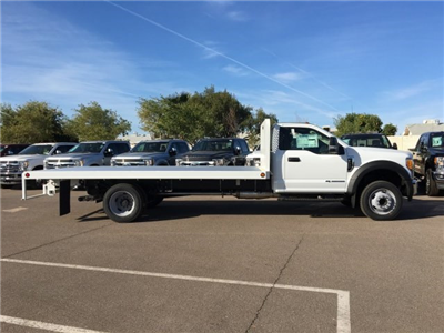 2017 F-550 Regular Cab DRW, Scelzi Western Flatbed Platform Body #HEF40829 - photo 7