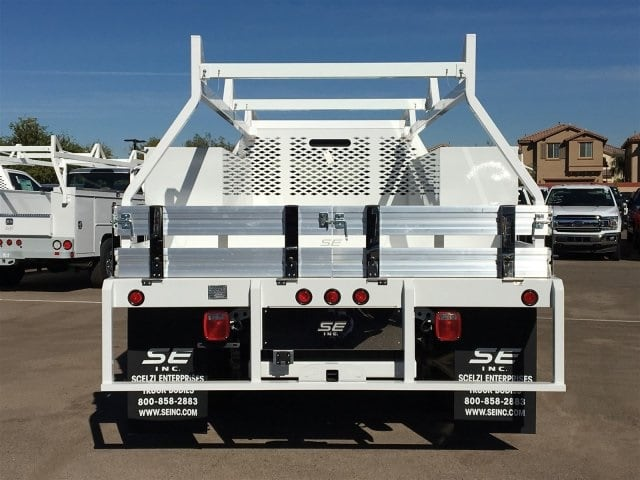2017 F-550 Crew Cab DRW, Scelzi Contractor Flatbed Contractor Body #HEF40835 - photo 6