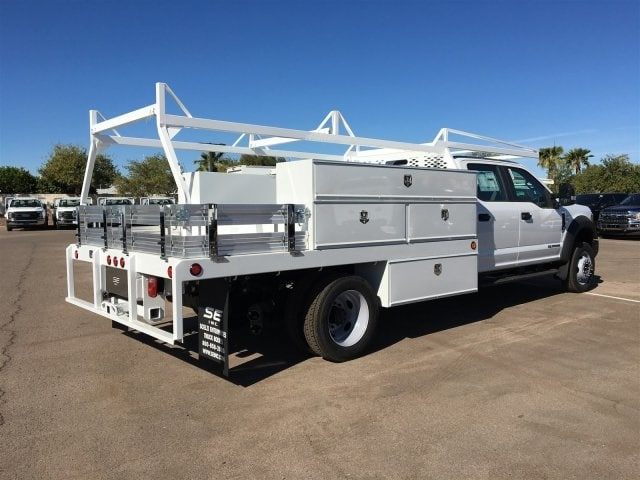 2017 F-550 Crew Cab DRW, Scelzi Contractor Flatbed Contractor Body #HEF40835 - photo 2