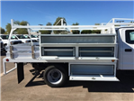 2017 F-550 Crew Cab DRW, Scelzi Contractor Flatbed Contractor Body #HEF40835 - photo 8