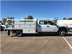 2017 F-550 Crew Cab DRW, Scelzi Contractor Flatbed Contractor Body #HEF40835 - photo 7