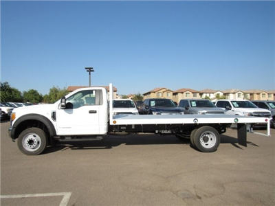 2017 F-550 Regular Cab DRW, Scelzi Western Flatbed Platform Body #HEF50491 - photo 3