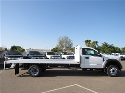2017 F-550 Regular Cab DRW, Scelzi Western Flatbed Platform Body #HEF50491 - photo 5