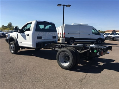2018 F-550 Regular Cab DRW 4x4, Cab Chassis #JDA00909 - photo 4