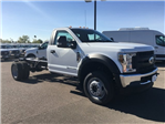 2018 F-550 Regular Cab DRW 4x4, Cab Chassis #JDA00909 - photo 1