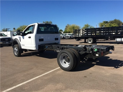 2018 F-550 Regular Cab DRW 4x4,  Cab Chassis #JDA01613 - photo 4