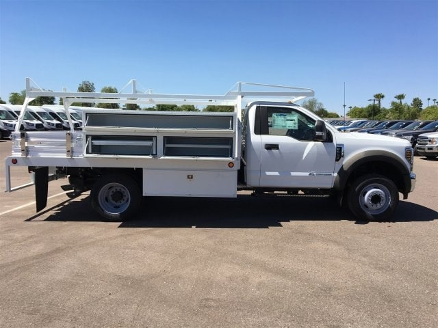 2018 F-550 Regular Cab DRW 4x2,  Scelzi CTFB Contractor Body #JDA04353 - photo 7