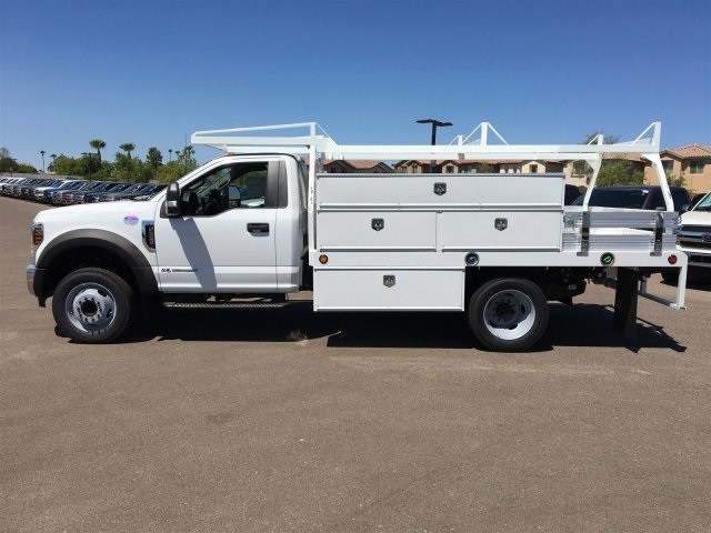 2018 F-550 Regular Cab DRW 4x2,  Scelzi CTFB Contractor Body #JDA04353 - photo 3