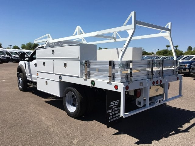 2018 F-550 Regular Cab DRW 4x2,  Scelzi CTFB Contractor Body #JDA04353 - photo 4