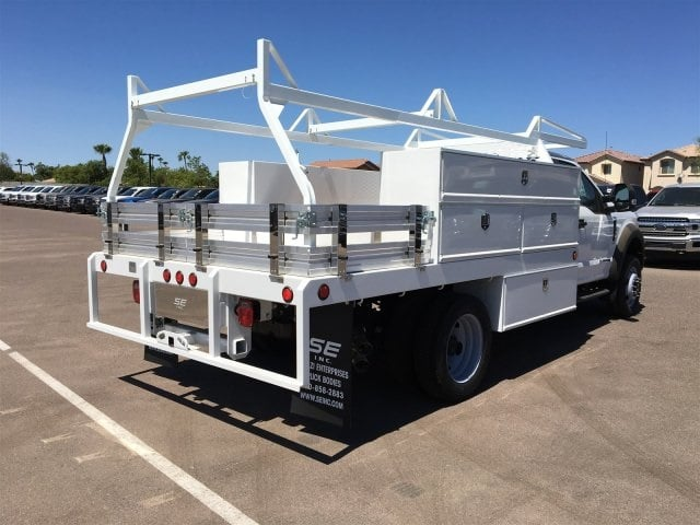 2018 F-550 Regular Cab DRW 4x2,  Scelzi CTFB Contractor Body #JDA04353 - photo 2