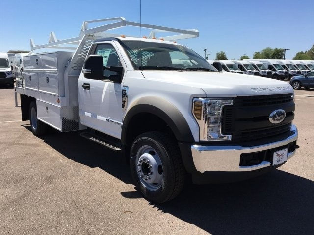 2018 F-550 Regular Cab DRW 4x2,  Scelzi CTFB Contractor Body #JDA04353 - photo 1