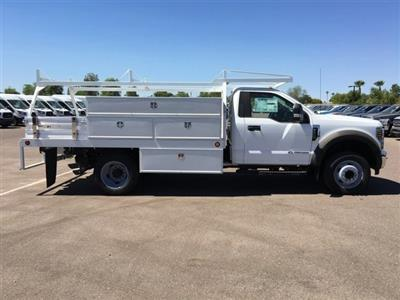 2018 F-550 Regular Cab DRW 4x2,  Scelzi CTFB Contractor Body #JDA04353 - photo 5
