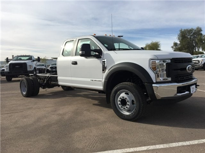 2018 F-550 Super Cab DRW, Cab Chassis #JEB74260 - photo 1