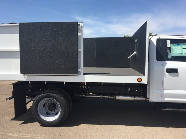 2018 F-550 Regular Cab DRW, Scelzi Landscaper Bodies Landscape Dump #JEB75160 - photo 12