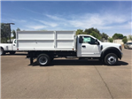 2018 F-550 Regular Cab DRW, Scelzi Landscaper Bodies Landscape Dump #JEB75160 - photo 11