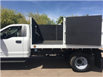 2018 F-550 Regular Cab DRW, Scelzi Landscaper Bodies Landscape Dump #JEB75160 - photo 4