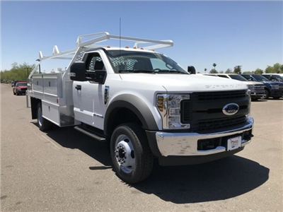2018 F-450 Regular Cab DRW 4x2,  Scelzi CTFB Contractor Body #JEC14720 - photo 1