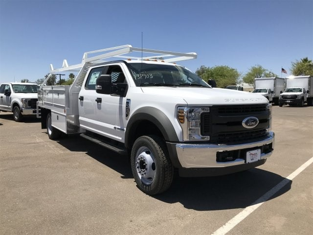 2018 F-450 Crew Cab DRW, Scelzi Contractor Flatbed Contractor Body #JEC14760 - photo 1