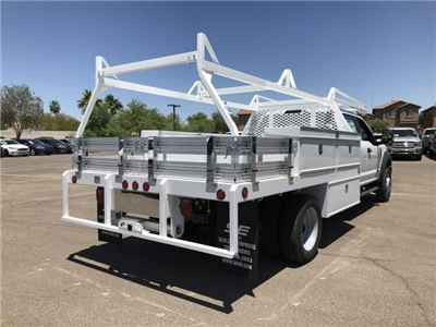 2018 F-450 Crew Cab DRW, Scelzi Contractor Flatbed Contractor Body #JEC14760 - photo 2