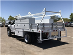 2018 F-450 Regular Cab DRW 4x2,  Scelzi CTFB Contractor Body #JEC27854 - photo 3