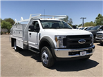 2018 F-450 Regular Cab DRW 4x2,  Scelzi CTFB Contractor Body #JEC27854 - photo 1