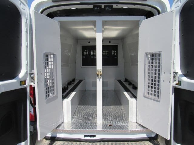 2018 Transit 350 Med Roof 4x2,  Upfitted Cargo Van #JKA26412 - photo 2