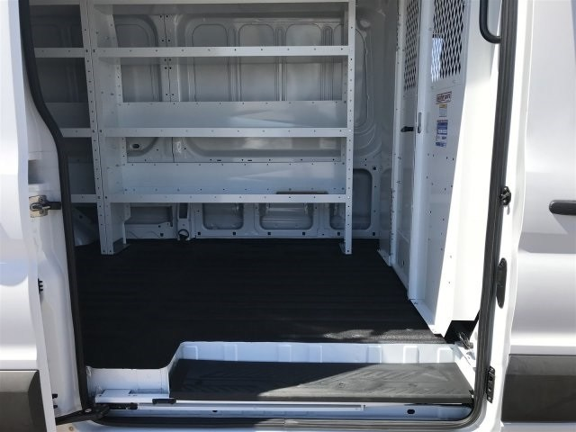 2018 Transit 250 Med Roof 4x2,  Weather Guard Upfitted Cargo Van #JKA63105 - photo 10