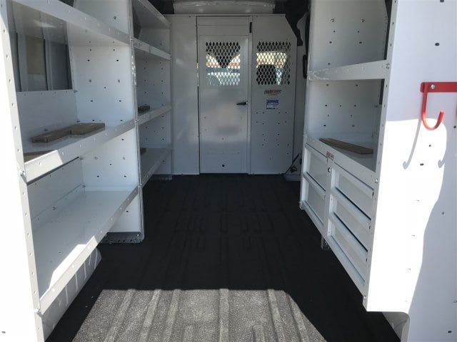 2018 Transit 250 Med Roof 4x2,  Weather Guard Upfitted Cargo Van #JKA63105 - photo 2