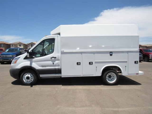 2018 Transit 350 HD DRW 4x2,  Service Utility Van #JKA73579 - photo 3