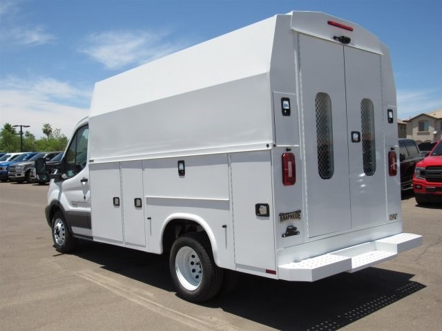 2018 Transit 350 HD DRW 4x2,  Service Utility Van #JKA73579 - photo 4