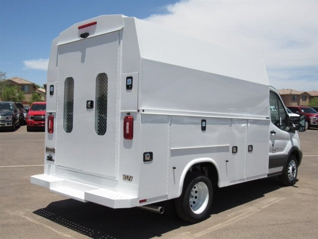 2018 Transit 350 HD DRW 4x2,  Service Utility Van #JKA73579 - photo 2