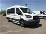 2018 Transit 350 Med Roof 4x2,  Passenger Wagon #JKA79249 - photo 1