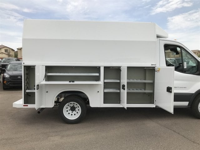 2018 Transit 350 HD DRW 4x2,  Service Utility Van #JKA87998 - photo 9
