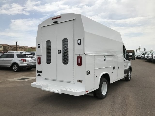 2018 Transit 350 HD DRW 4x2,  Service Utility Van #JKA87998 - photo 2