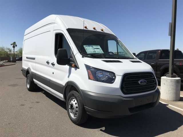 2018 Transit 350 HD High Roof DRW, Cargo Van #JKA96187 - photo 1