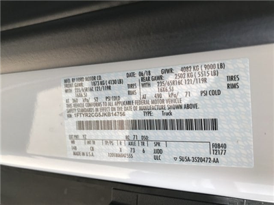 2018 Transit 250 Med Roof 4x2,  Empty Cargo Van #JKB14756 - photo 25