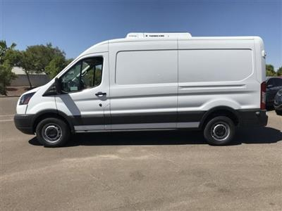 2018 Transit 250 Med Roof 4x2,  Thermo King Refrigerated Body #JKB29260 - photo 3