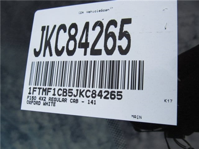 2018 F-150 Regular Cab, Pickup #JKC84265 - photo 19