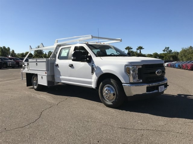 2019 F-350 Crew Cab DRW 4x2,  Scelzi CTFB Contractor Body #KEC52403 - photo 1