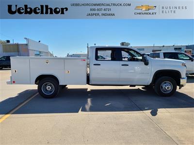 2020 Chevrolet Silverado 3500 Crew Cab DRW 4x4, Reading Service Body #F8688 - photo 3