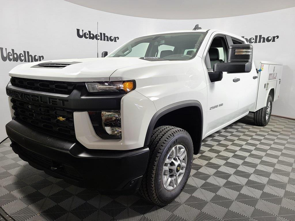 2020 Chevrolet Silverado 2500 Crew Cab 4x4, Reading Service Body #F8919 - photo 1