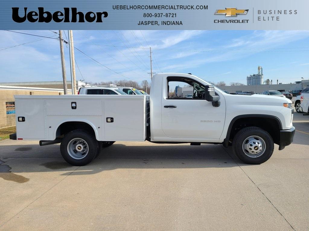 2020 Chevrolet Silverado 3500 Regular Cab DRW 4x4, Knapheide Steel Service Body #ZT10045 - photo 1