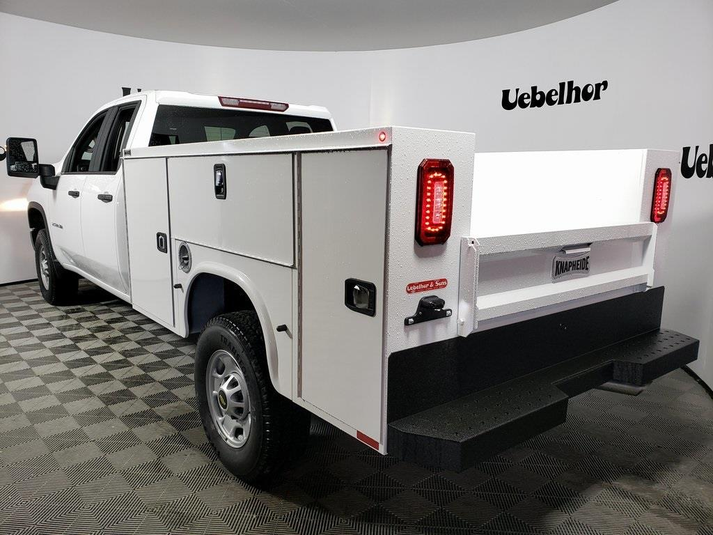 2021 Chevrolet Silverado 2500 Double Cab 4x4, Knapheide Steel Service Body #ZT10122 - photo 2