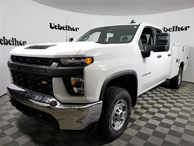 2021 Chevrolet Silverado 2500 Double Cab 4x4, Knapheide Steel Service Body #ZT10122 - photo 1