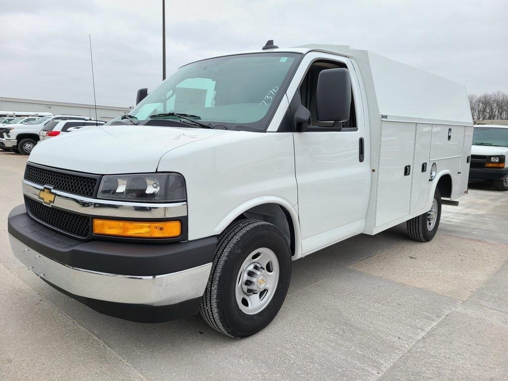 2020 Chevrolet Express 3500 4x2, Knapheide KUV Service Utility Van #ZT10133 - photo 3