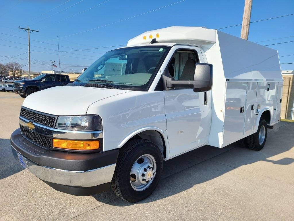 2021 Chevrolet Express 3500 4x2, Knapheide KUV Service Utility Van #ZT10239 - photo 3