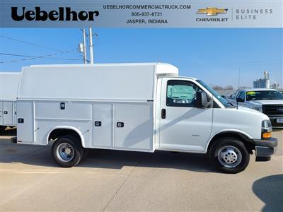 2021 Chevrolet Express 3500 4x2, Knapheide KUV Service Utility Van #ZT10239 - photo 1
