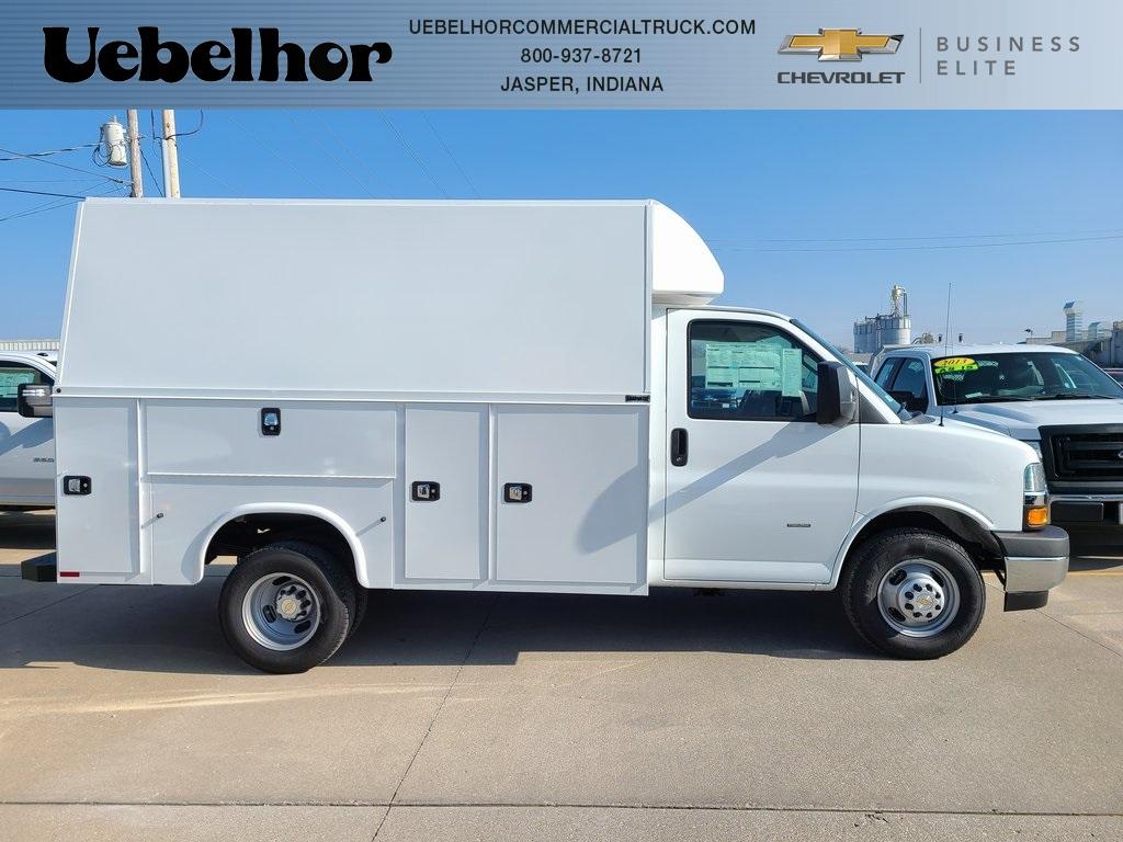 2021 Chevrolet Express 3500 4x2, Knapheide KUV Service Utility Van #ZT10240 - photo 1